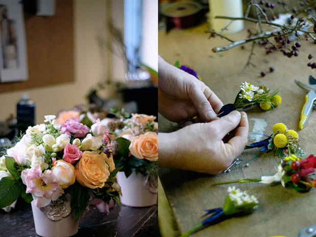the french touch wedding flowers